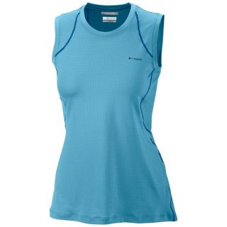 Columbia Sportswear Quickest Wick Base Layer Top   Sleeveless (For Women)   RIPTIDE (L )
