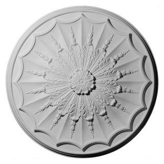 Ekena Millwork Artis Ceiling Medallion   27.125 diam. in. Multicolor   CM27AR