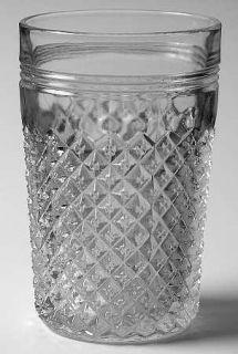 Anchor Hocking Miss America Clear 10 Oz Flat Tumbler   Clear, Depression Glass