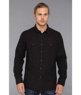 Marc Ecko Cut & Sew Falcon L/S Woven Mens Long Sleeve Button Up (Black)