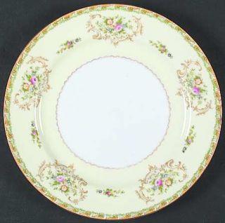 Royal Derby (Japan) Rdb5 (Japan) Dinner Plate, Fine China Dinnerware   Tan & Gre