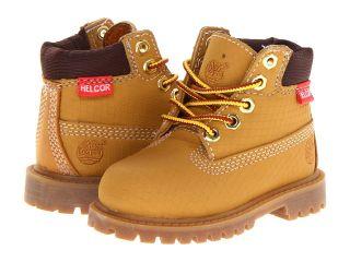 Timberland Kids 6 Premium Waterproof Scuff Proof II Boot Boys Shoes (Yellow)