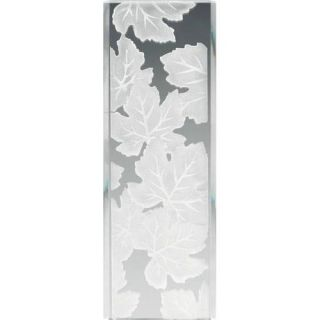 Kichler 4083 Soft Contemporary/Casual Lifestyle Glass Panel Maple Leaves Fixture Frosted