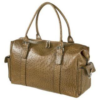 Bueno Textured Weekender Handbag   Brown