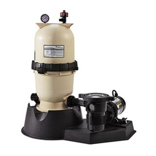 Pentair PNEC0090OF1160 EasyClean Aboveground D.E. Filter System, 1.5 HP 30 Sq. Ft Filter Area
