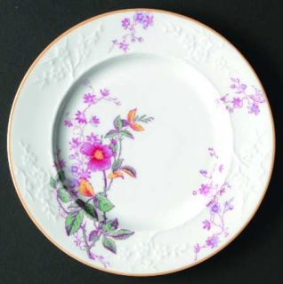 Spode Roberta Orange (Smooth) Bread & Butter Plate, Fine China Dinnerware   Pink