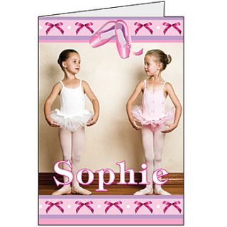 Ballet Beauty Giant Greeting Cards