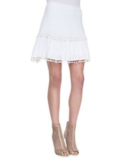 Womens Chica Fringe Trim Skirt   For Love & Lemons