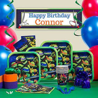 Teenage Mutant Ninja Turtles Ultimate Party Pack