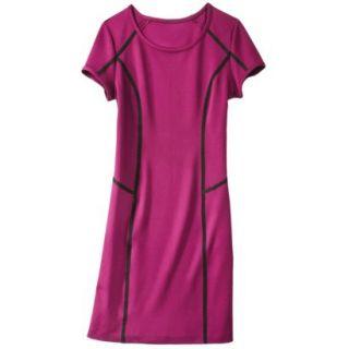 Mossimo Womens Body Con Scuba Dress   Sangria L
