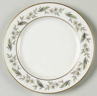 Royal Jackson Bridal Wreath Bread & Butter Plate, Fine China Dinnerware   Floral