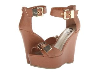 G by GUESS Honey Womens Wedge Shoes (Tan)