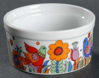 Royal Crown (Japan) Paradise Ramekin, Fine China Dinnerware   Birds & Flowers