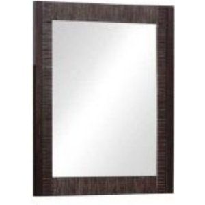 Pegasus PEH2732M Universal 29 In. L X 24 In. W Framed Wall Mirror In Light Mahog