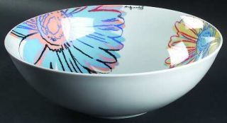 Rosenthal   Continental Daisies 10 Round Vegetable Bowl, Fine China Dinnerware
