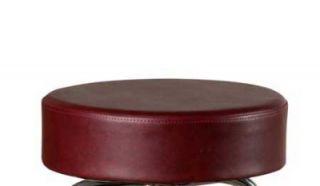 Oak Street Mfg Replacement Button Top Bar Stool Seat, Wine Vinyl