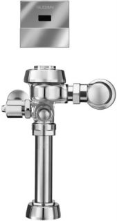 Sloan ROYAL 1111.28 ESS Royal Optima Exposed, Hardwired, Automatic Toilet Flush Valve 1.28 GPF High Efficiency