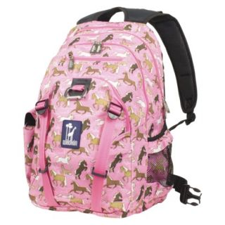 Wildkin Horses Serious Backpack   Pink