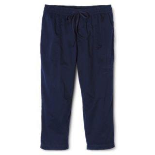 Merona Womens Plus Size Weekend Wear Pants   Navy 3X