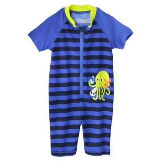 Just One You by Carters Infant Boys Octopus Full Body Rashguard   Royal 6 M
