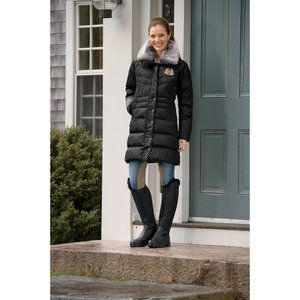 Mountain Horse Majesty Coat Black Lg(42 44)