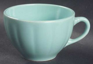 WS George Petalware Turquoise Flat Cup, Fine China Dinnerware   Turquoise
