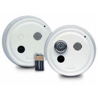Gentex 9123F Smoke Alarm, 120V AC Photoelectric w/ A/C Contacts amp; Temporal Sounde