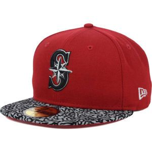 Seattle Mariners New Era MLB E Print 59FIFTY Cap