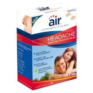 air HEADACHE   Drug free Headache Relief Nasal Breathing Aid, 12 ct