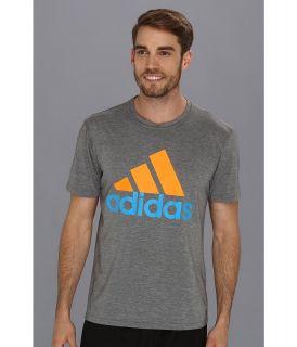 adidas Logo Ultimate Tee Mens T Shirt (Gray)
