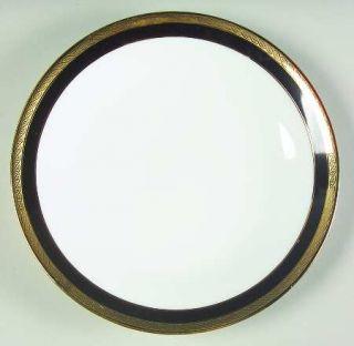 Richard Ginori Palermo Black Bread & Butter Plate, Fine China Dinnerware   Imper