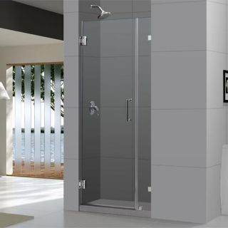 Dreamline SHDR2329721004 Frameless Shower Door, 29 x 72 Radiance Hinged Glass Brushed Nickel