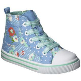 Toddler Girls Genuine Kids from OshKosh Jazzla High Top Sneaker   Blue 10