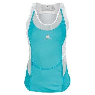 Adidas Women`s Stella McCartney Barricade Tennis Tank 1 Ultra Green Xsmall Green