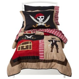 Treasure Cove Pirate 5 pc. Toddler Bedding Set