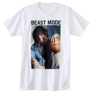 Mens Teen Wolf Beast Mode Graphic Tee M