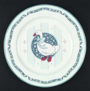 Baker, Hart & Stuart Blue Goose 12 Chop Plate/Round Platter, Fine China Dinnerw