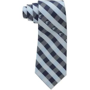 Memphis Grizzlies Eagles Wings Polyester Checked Tie