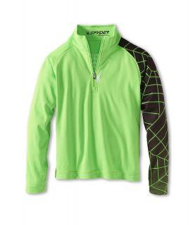 Spyder Kids Boys Linear Web   Dry W.E.B. T Neck F13 Boys Long Sleeve Pullover (Multi)