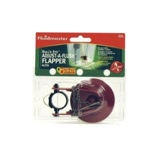Fluidmaster 502CT Toilet TuneUp Bulls Eye AdjustAFlush Flapper