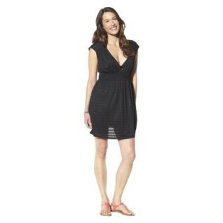 Merona Womens Coverup Dress  Black M