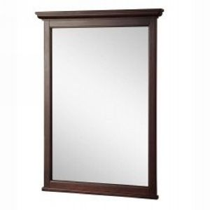 Foremost FMASGM2431 Ashburn 24 In. W X 31 In. H Mirror In Mahogany
