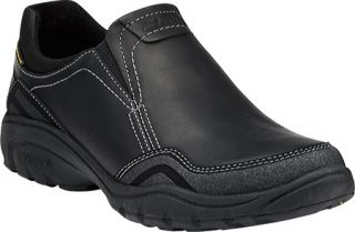 Mens Clarks Wave.Tackle   Black Leather Casual Shoes