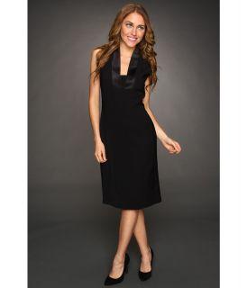Anne Klein Tuxedo Dress Womens Dress (Black)