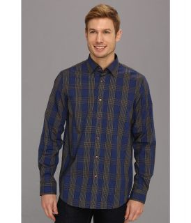 Report Collection L/S Window Pane Check Button Up Mens Long Sleeve Button Up (Multi)
