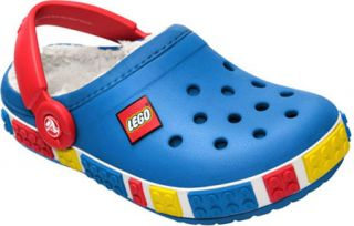 Childrens Crocs Crocband LEGO Mammoth Clog   Sea Blue/Red Casual Shoes