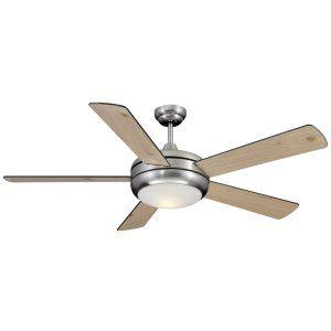 Ellington Fans ELF E TIT52SCH5LKRCI Titan 52 Ceiling Fan w/Light Kit light kit