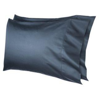 Fieldcrest Luxury 600 Thread Count Pillowcase Set   Shadow Teal (Standard/Queen)