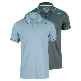Nike Men`s Baseline Tennis Polo Small 332_Vintage_Green