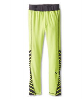 Puma Kids Criss Cross Legging Girls Casual Pants (Yellow)